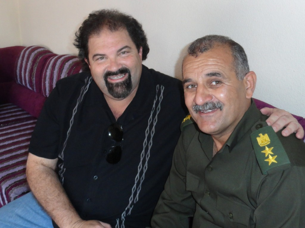 Randy and a Kurdish Army General who has been helping us with humanitarian aid efforts.