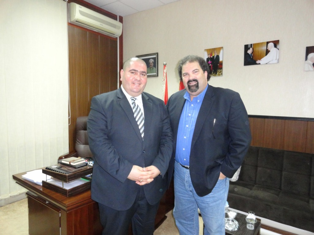 Randy with Dir. of Ministry of Religion in Kurdistan