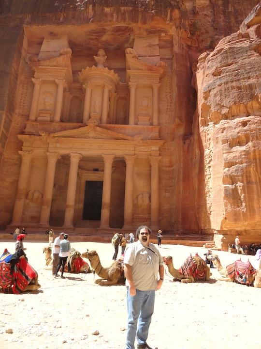 Randy in Petra, Jordan
