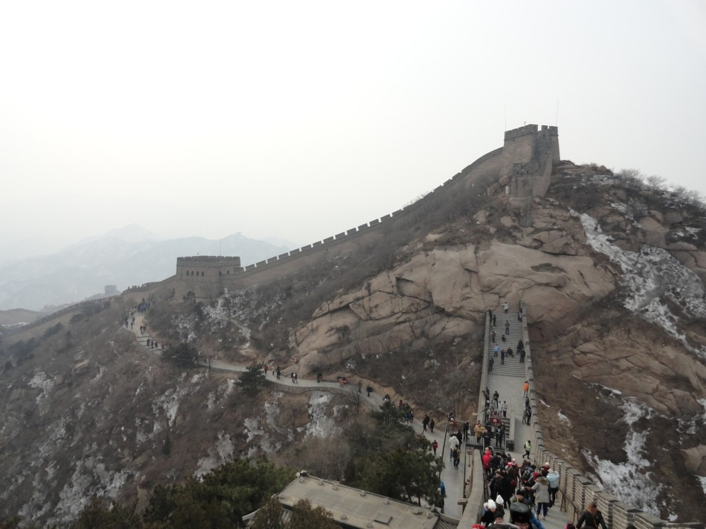 The Great Wall of China,  near Bejing