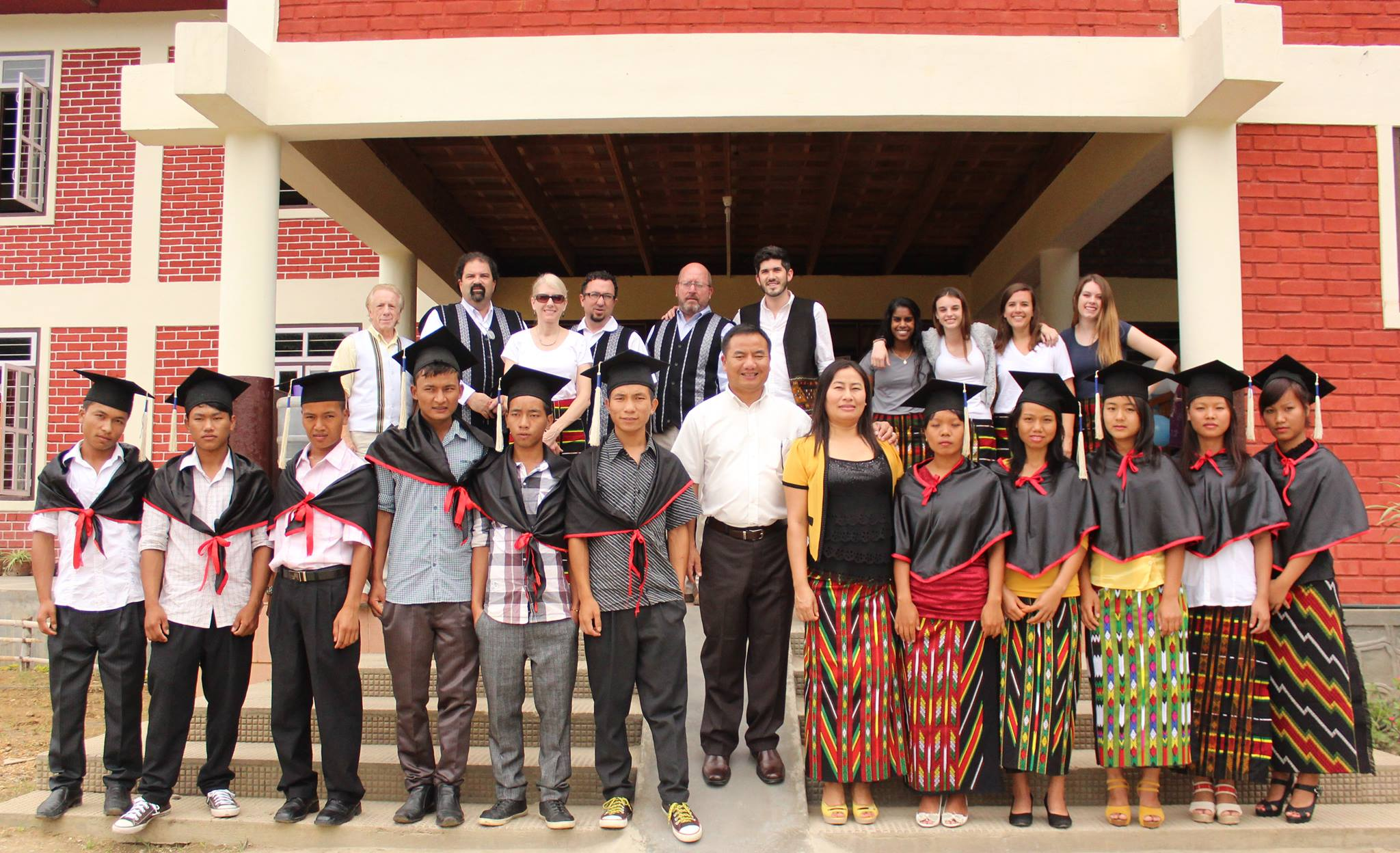 The 2103 Graduation Class of Covenant Children's Home in Manipur, India