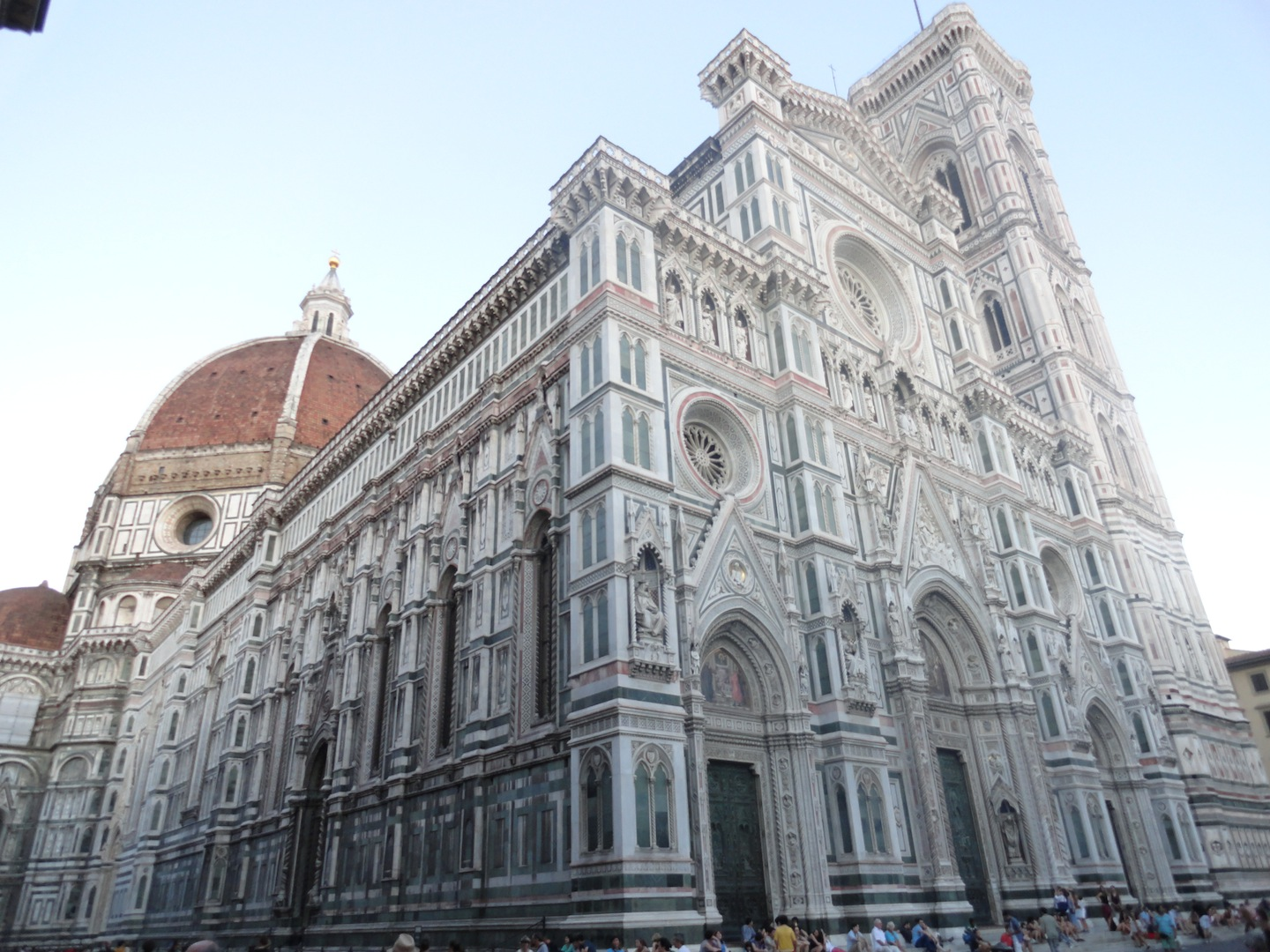 The Duomo in Firenze!