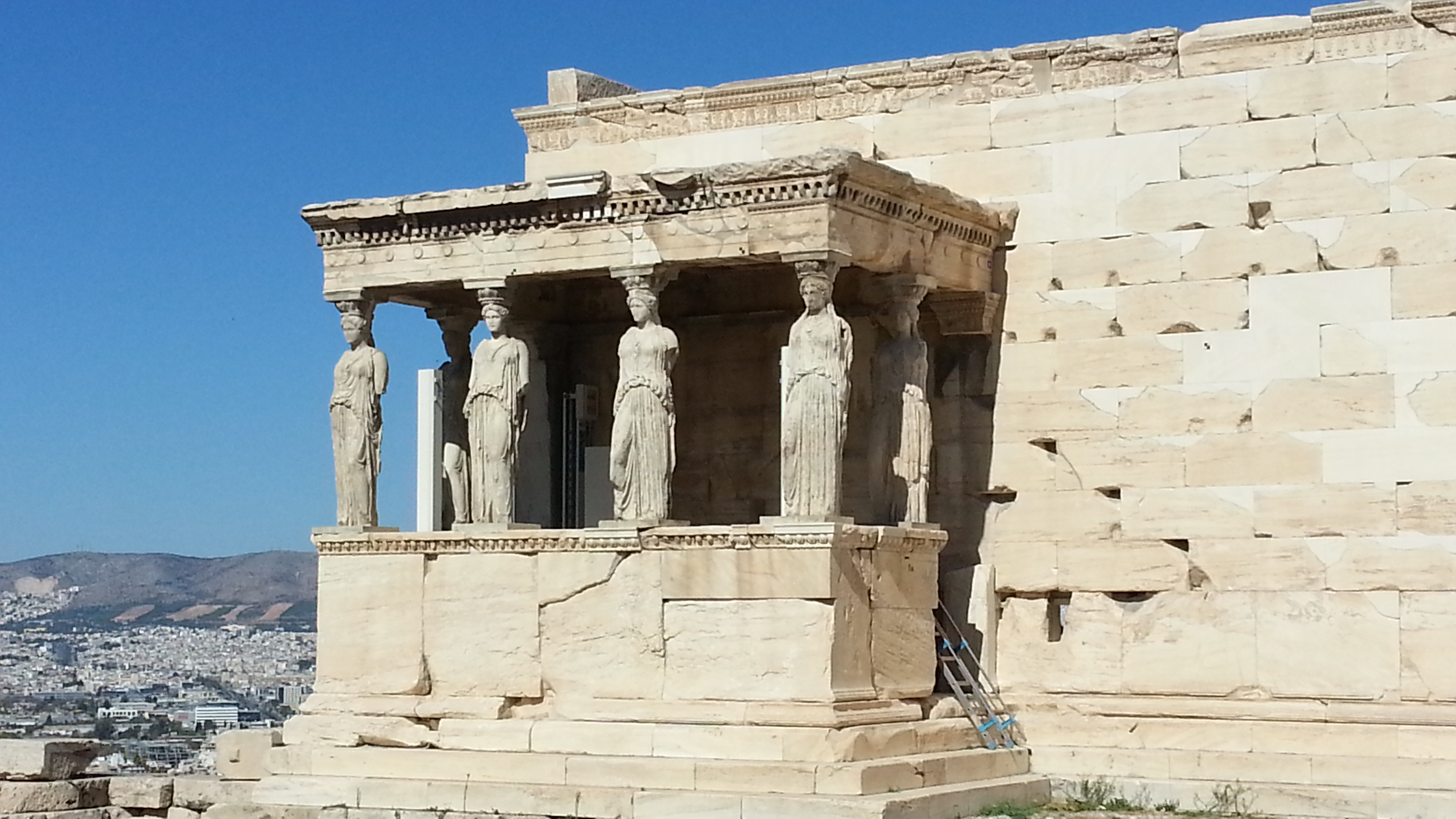 Athena's Temple at the Acropolis