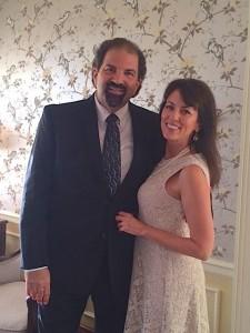 Randy and his bride, Sharon!