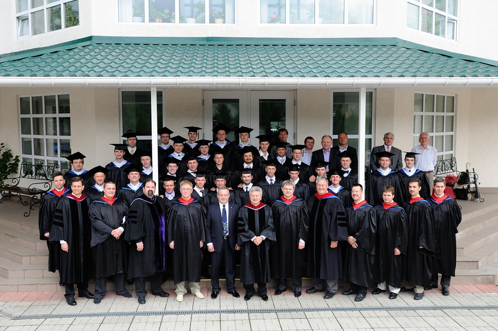 Graduation at Irpin Seminary in Kiev, Ukraine