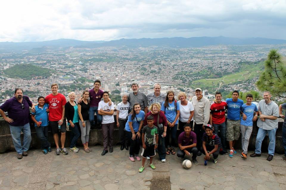 Team in Honduras