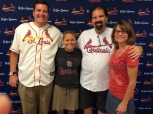 The Gang on Christian Day; Mike, Karen, Margot & Randy