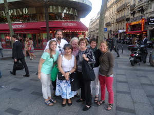 Team with Maria Jose Colle