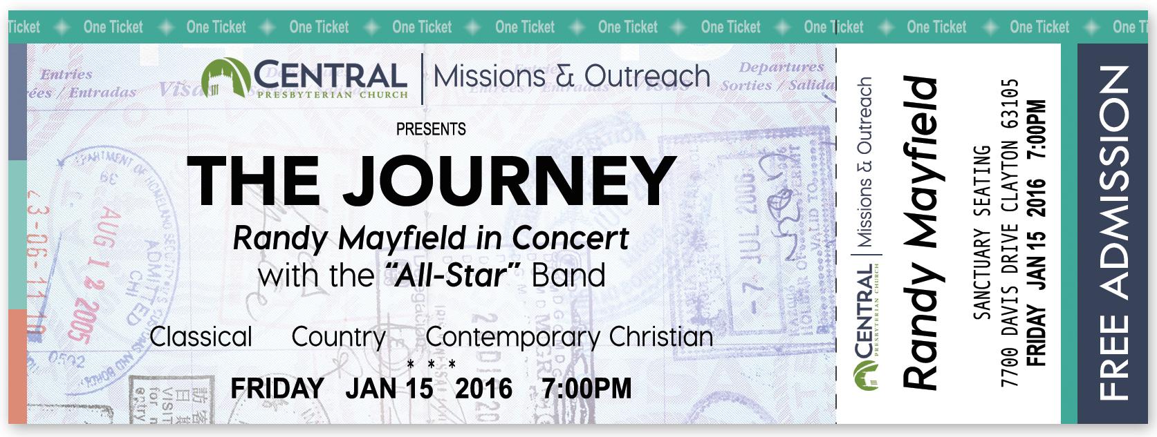 Concert Ticket Concept