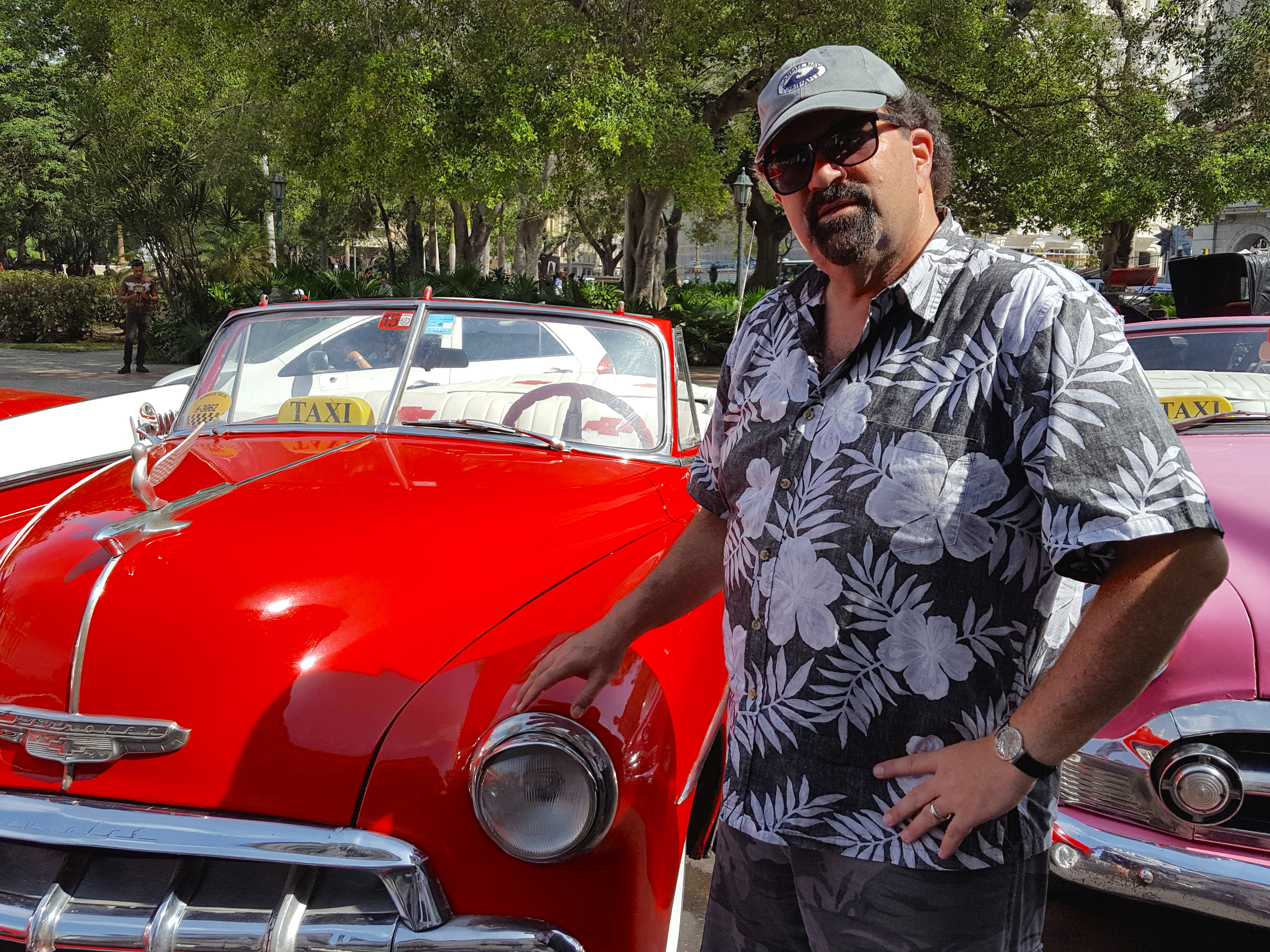 "Randy with a ""cherry"" Chevy Bel Air!"