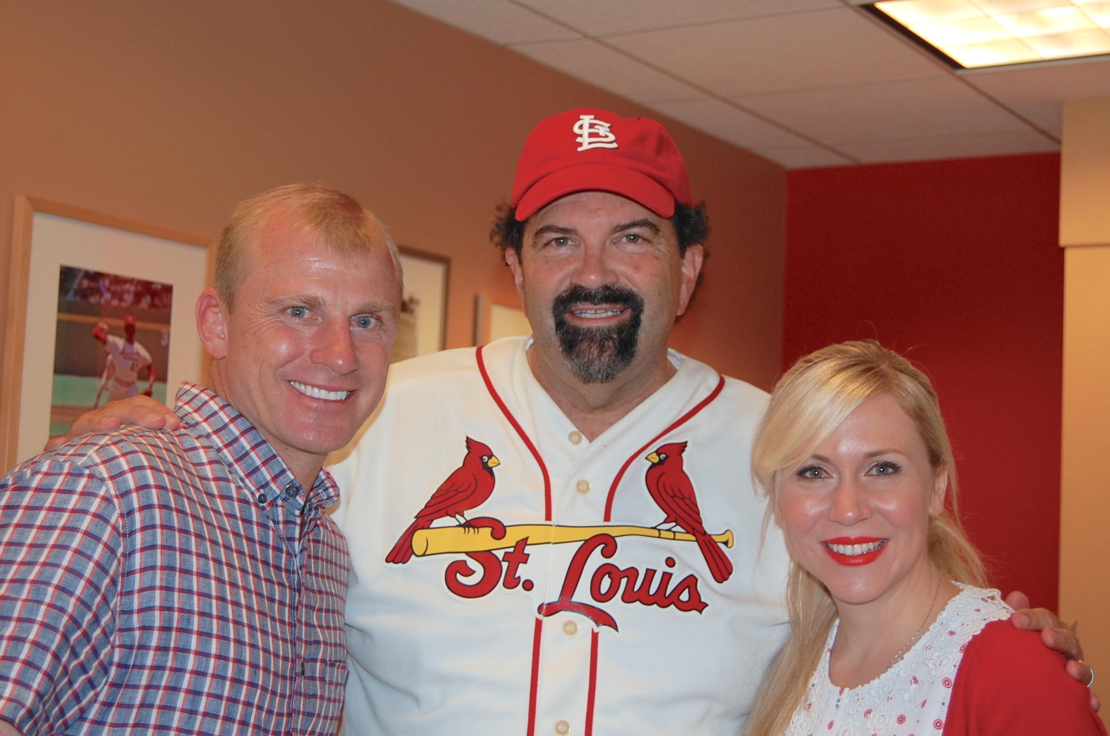 Randy with David & Ashley Eckstein