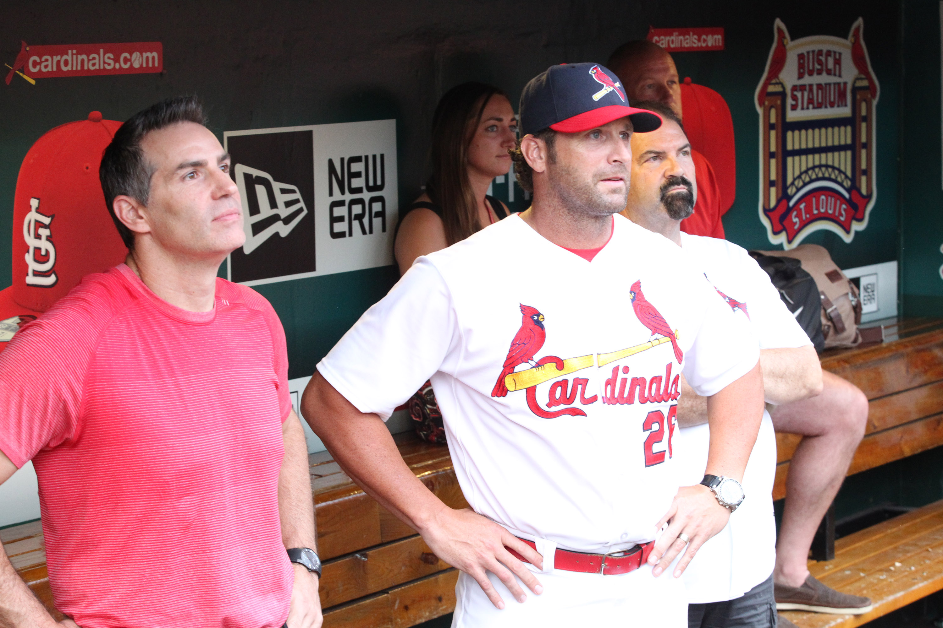 """The """"Big Dogs"""" Warner, Matheny & Mayfield!"""