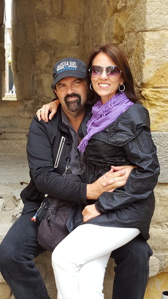 Randy & Sharon... young love! :)