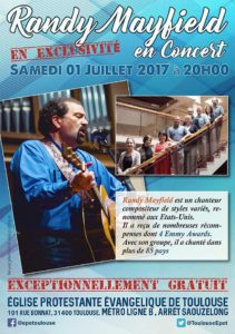 Concert poster Toulouse 2